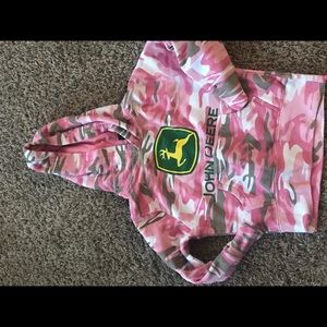 Girls John Deere Sweatshirt
